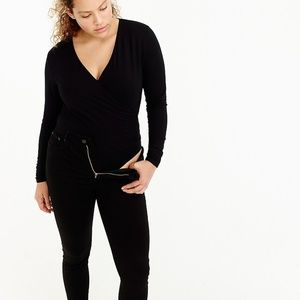 J.Crew Faux Wrap Bodysuit
